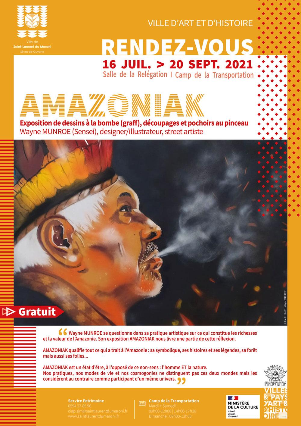 #Exposition : AMAZONIAK de Wayne MUNROE