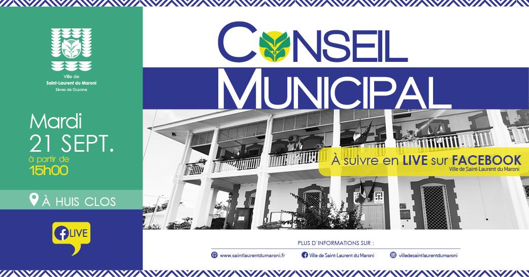 #ConseilMunicipal: Conseil Municipal du 21 septembre 2021