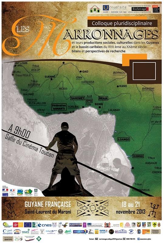 Colloque sur les marronnages du 18 au 21 novembre organisé par l'association APFOM