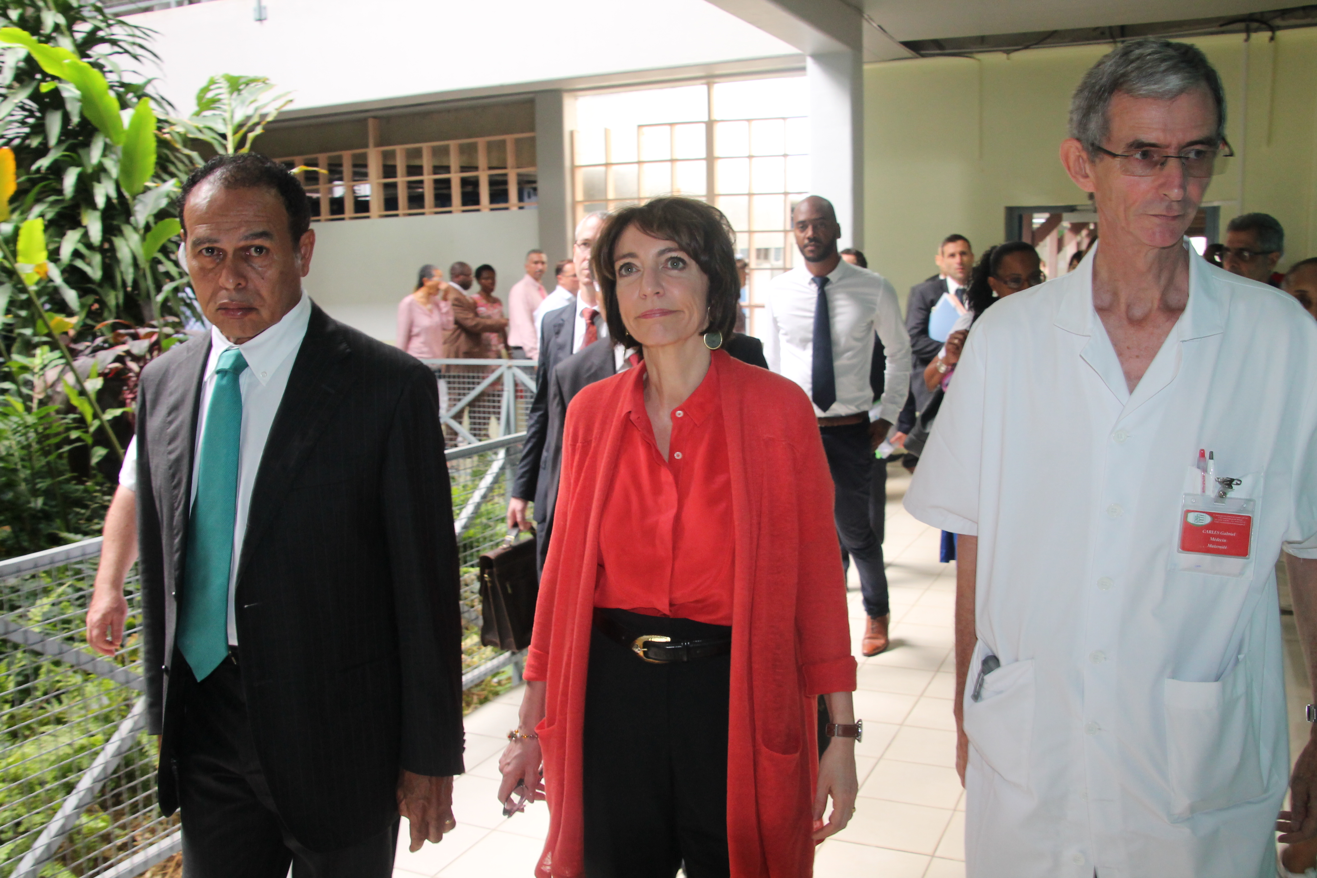 Visite de Mme. la Ministre Marisol TOURAINE