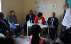 Visite de la ministre du travail : la mission locale et le dispositif périscolaire à l'honneur