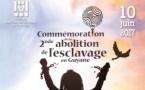 10 juin : commémoration de la seconde abolition de l'esclavage