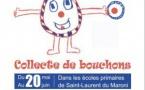 Collecte de « Bouchons d'amour » dans les écoles primaires de Saint-Laurent du Maroni