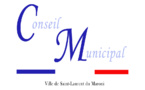 29 mai 2018 : conseil municipal