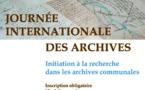 Le 07 juin, réservez votre place pour l'atelier d'initiation à la recherche dans les archives communales !