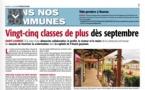 Rentrée scolaire 2018-2019 : France Guyane fait le point