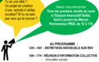 Pour les porteurs de projets d'utilité sociale, permanence mensuelle du PDRL ce jeudi 07 juin