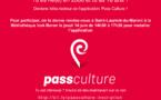 Vous avez 18 ans ? Vous aimez la culture ? Le jeudi 14 juin venez tester l'application du pass culture à la bibliothèque municipale !