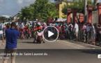 Tour de Guyane : départ de la sixième étape Saint-Laurent/Iracoubo