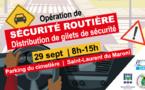 [Sécurité routière] : opération de sensibilisation