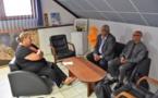 [Médias] : Madame le maire rencontre Walles KOTRA, directeur exécutif du pôle outre-mer de France Télévision