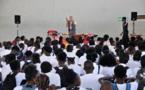 [Éducation] : spectacle « Semsemaya » pour les collégiens d'Arsène Bouyer d'Angoma
