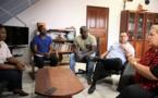 [Vie institutionnelle] : Madame le maire rencontre le vice-consul d'Haïti en Guyane
