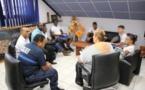 [Education] : Madame le maire échange avec les élèves du collège Arsène Bouyer d'Angoma.