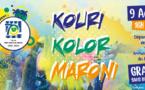 Événement 70 ans : le 09 août venez participer à la Kouri Kolor Maroni !