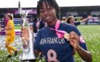 [Nos jeunes ont du talent] : félicitations à Oriane JEAN-FRANÇOIS, jeune footballeuse saint-laurentaise formée au COSMA, sacrée championne d'Europe U19