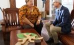 [Construction du territoire] : Madame le maire échange avec le nouveau Préfet sur les enjeux de Saint-Laurent