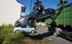 [Environnement - cadre de vie] : la police municipale pilote une opération d'enlèvement des véhicules hors d'usages