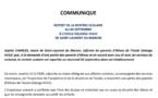 [Communiqué] : report de la rentrée scolaire au 04 septembre à l'école Solange HULIC