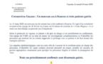 [Coronavirus guyane] : point de situation du 14 mars à 12h avec Agence Régionale de Santé Guyane