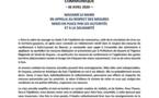 [Coronavirus guyane] : Madame le maire de Saint-Laurent du maroni, Sophie CHARLES, appelle les administrés au respect des mesures prises par les autorités et à la solidarité