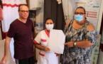 [Prévention] : la commune distribue des kits de protection aux assistantes maternelles de Saint-Laurent du Maroni