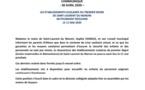 [#education-coronavirus] : les établissements scolaires du premier degré de #saintlaurentdumaroni ne pourront réouvrir le 11 mai 2020