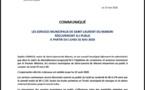 [#déconfinement] : rappel des modalités d'ouverture des services municipaux de Saint-Laurent du Maroni