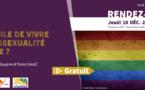 Jeudis du patrimoine : Conférence : Est-il facile de vivre son homosexualité en Guyane ?