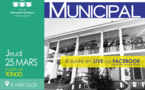 #Conseilmunicipal : Conseil municipal du 25 mars 2021