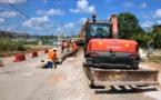 #Travaux : Après la mise en place de l'arrivée de l'eau potable, des travaux de voirie à venir au Lac Bleu