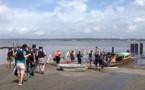 Les participants de « l'Atelier international de maîtrise d'œuvre urbaine » visitent Saint-Laurent et le fleuve