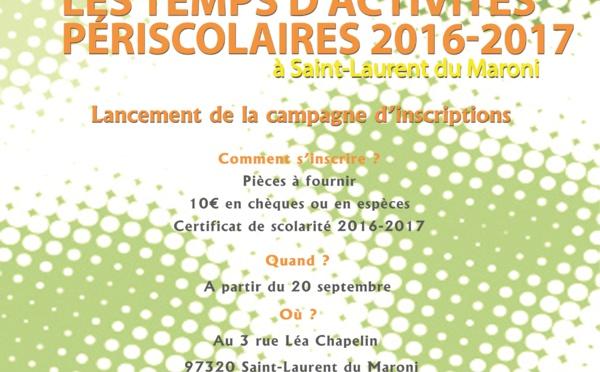 Dispositif périscolaire à Saint-Laurent : les inscriptions ouvrent demain !