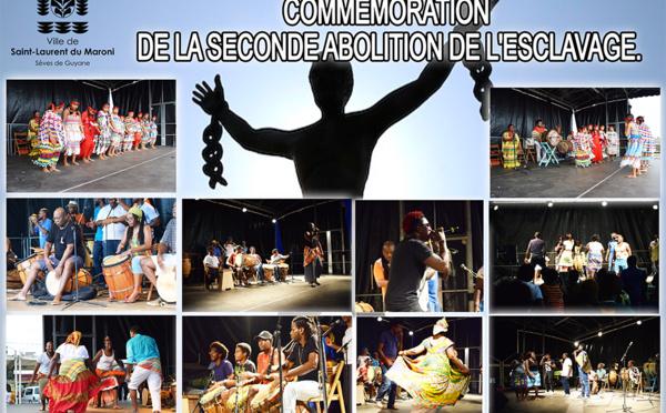 Retour en images sur la commémoration de la seconde abolition de l'esclavage à Saint-Laurent du Maroni