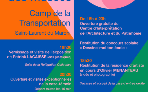 Le 18 mai rendez-vous à la Nuit européenne des musées :)