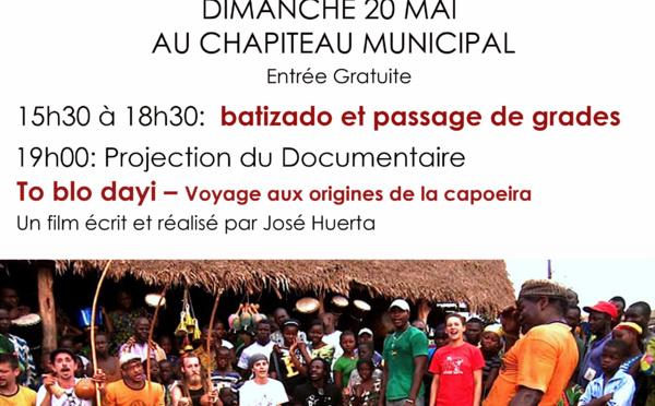Le 20 mai, ne ratez pas le Cinécapoeira dans le cadre du Mois de la Commémoration de la seconde abolition de l'esclavage