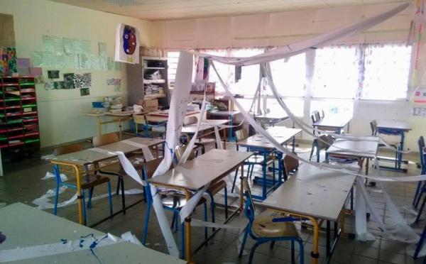 Actes de vandalisme à l'école L. HEDER