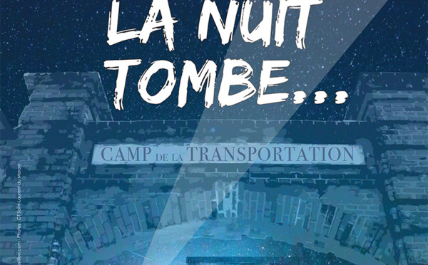 CAMP LA NUIT TOMBE...
