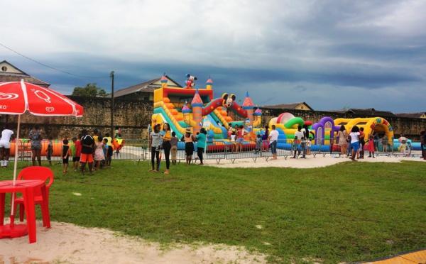 Bougez avec Saint-Laurent au Maroni' Parc ! Le parc de loisirs gratuits pour la famille !