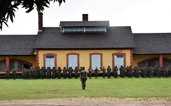 Passation de commandement RSMA