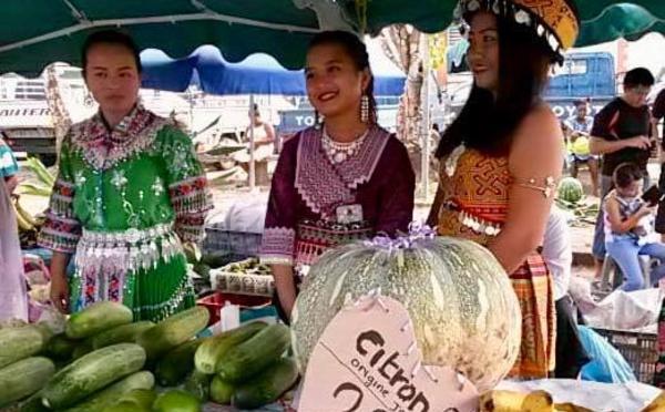 Fête patronale : les étals du marché sont en fête