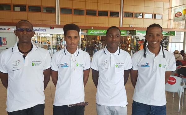 Nos jeunes ont du talent : Nicolas YVENSON du VCM au championnat de France de cyclisme avec la sélection guyanaise