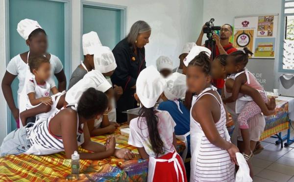 """Bougez avec Saint-Laurent : ateliers de cuisine """"Précy et les petits chefs"""""""