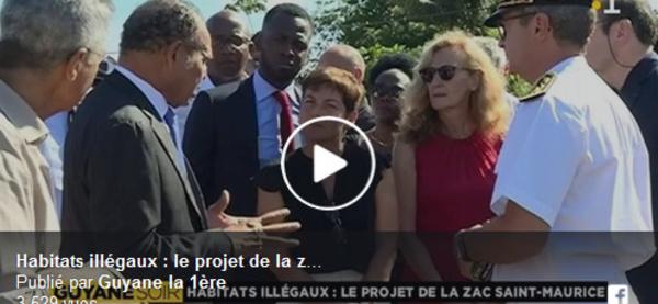 Léon Bertrand propose aux ministres d'expérimenter une solution innovante face à la pression de l'habitat informel