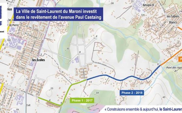 La Ville investit dans des travaux de voirie à Paul Castaing et Paul Isnard
