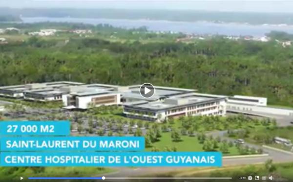 Le Centre Hospitalier de l'Ouest Guyanais - CHOG - ouvre les portes de son nouveau site aux Sables Blancs dès le 27 septembre 2018