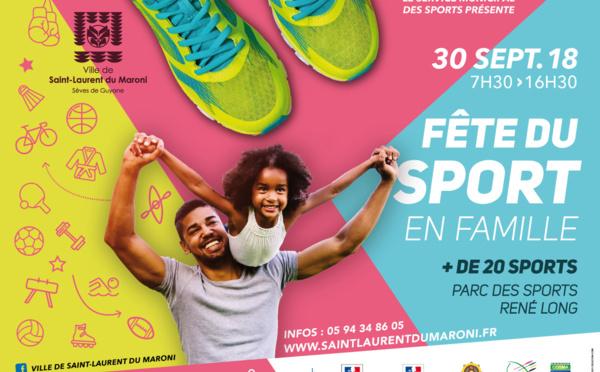 Fête du sport en famille !