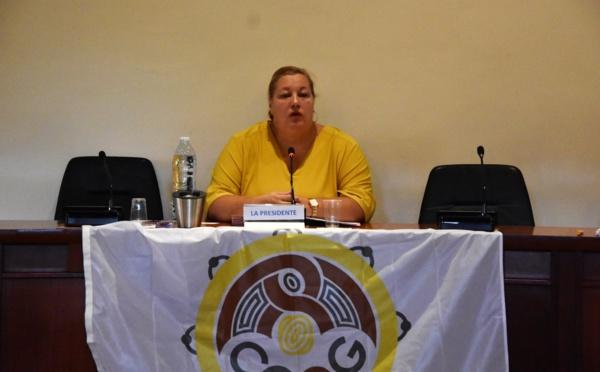 [CCOG] : Sophie CHARLES, maire de Saint-Laurent du Maroni, élue présidente de la CCOG
