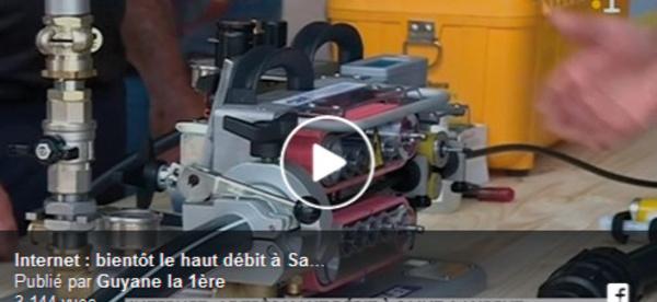 [Numérique] : déploiement de la fibre optique à Saint-Laurent