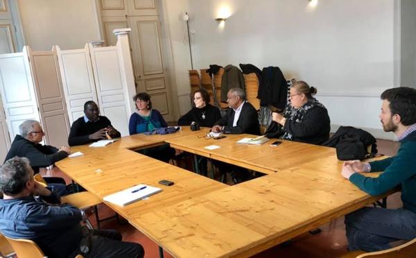 [Logement] : les équipes de la Ville de Saint-Laurent rencontrent Madame le maire d'Avignon et les habitants autour de la production d'habitat